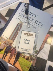 sophomore college campus visits