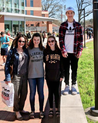 college campus visits sophomore