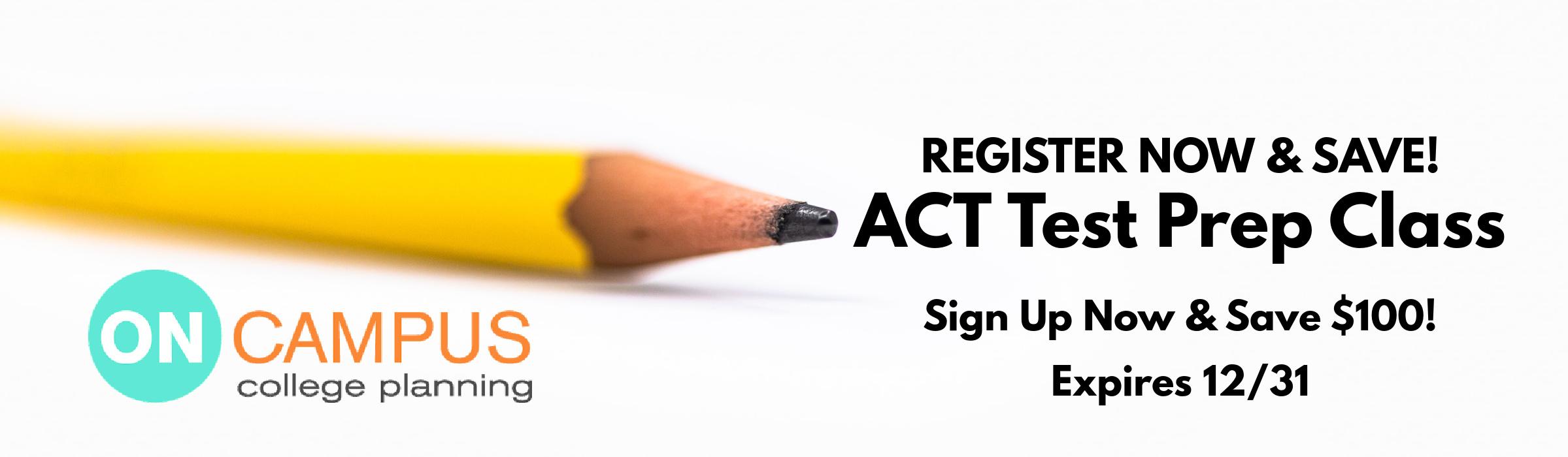 ACT Test Prep Register